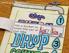 Learning In Wonderland: Water Conservation Foldable