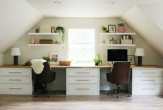 Cozy Spring Home Tour | the new studio all prettied up