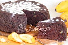 Шаг 15. Этот кекс получается необыкновенным: с насыщенным шоколадным вкусом и приятными нотками бананов