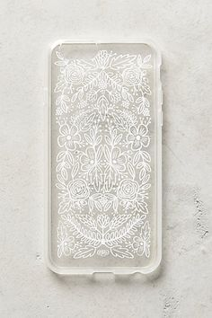 Anthropologie EU Etched Glass iPhone 6 Case