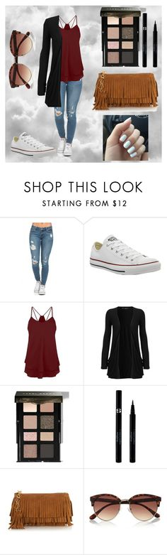 """""""Everyday"""" by katielynnbug on Polyvore featuring Converse, WearAll, Bobbi Brown Cosmetics, Sisley, Yves Saint Laurent, River Island, women's clothing, women, female and woman"""