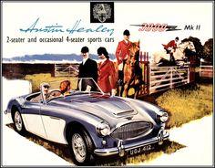 Austin-Healey 3000 MK3 in black & orange' von Arthur Huber bei ...