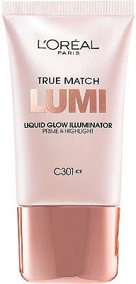 L'Oreal True Match Lumi Liquid Glow Illuminator is everything we've ever wanted out of an affordable liquid highlighter. Drugstore Highlighter, Liquid Highlighter, Drugstore Makeup, Eye Makeup, Highlighters, Beauty Makeup, Makeup Tips, Nars Dupe, Makeup Ideas
