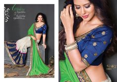 texclusive's new designer saree collection.