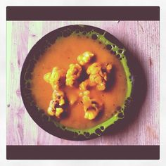 Roasted Cauliflower and Kabocha Soup | The Engine 2 Diet