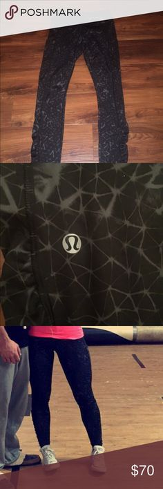 Lululemon size 4 leggings NWOT love these pants just can't fit them and I just Purchased them. Will accept trades of same value. Pockets on both sides, inside pocket, regular size, back zipper on pants, and soft feel. lululemon athletica Other