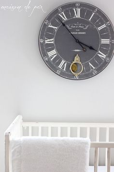 gorgeous subtle mostly neutral nursery with touches of french and farmhouse charm at maisondepax