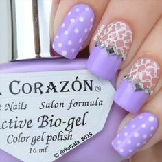 20 Trendy Lace Nail