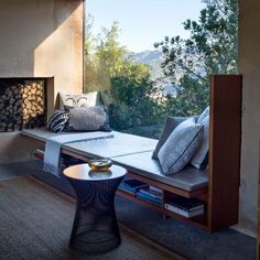 Loving this window seat and how by using one single glass pane it feels completely open to the outside. Nothing light relaxing with this view and recharging for what the rest of the day holds! . . . . #design #decor #interiordesign #interiorcravings #designyourlife #decorate #inspiration #designinspo #decorating #luxuryhome #decoratingideas #glam #interiors123 #SOdomino #mydomaine #homewithrue #abmathome #iloveinteriors #interiorstyling #finditstyleit #homerenovation #dreamkitchen…