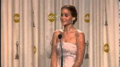 """If I didn't already love, love, LOVE Jennifer Lawrence, then this video clip would certainly clinch it for me. She is so completely genuine at all times, and absolutely hilarious. (""""Jennifer Lawrence wins best actress Oscars 2013, via YouTube"""", post-Oscar interview session)"""