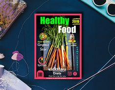 Kick Start Diet, Magazine Cover Design, Working On Myself, Editorial Design, New Work, Behance, Branding, Profile, Graphic Design