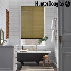 """RGO Products Ltd. on Instagram: """"A sleek, fashionable look  @hunterdouglas ½"""" and 1"""" Décor blinds are the most traditional aluminum blinds, featuring standard route holes…"""""""