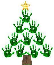 25 Easy Christmas Craft Ideas For Kids - Thrillbites Résultats de recherche d'images pour « bricolage noel facile Handprint Christmas Tree, Preschool Christmas, Easy Christmas Crafts, Christmas Activities, Simple Christmas, Christmas Art, Christmas Decorations, Xmas Tree, Christmas Crafts For Kids To Make Toddlers