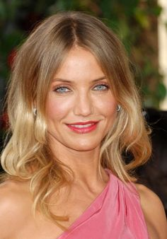 Subtle blonde ombre hair, perfected by Cameron Diaz......thinking this may be my new hair experiment come June 14!