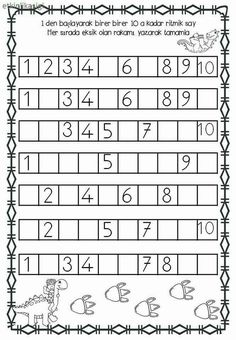 Practice Writing Numbers 04 is part of Kindergarten math - Preschool Writing, Numbers Preschool, Preschool Learning Activities, Educational Activities, Montessori Math, Kindergarten Math Worksheets, Writing Numbers, Math For Kids, Kids Education