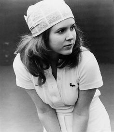 Carrie Fisher; production still from Hal Ashby's Shampoo (1975)