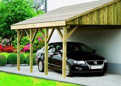 Contego Lean-to-Carport Deluxe Rustic Pergola, Curved Pergola, Pergola Canopy, Pergola With Roof, Patio Roof, Pergola Plans, Pergola Kits, Gazebo, Pergola Ideas