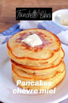 Découvrez notre recette de pancakes chèvre miel ! Breakfast, Food, Healthy Recipes, Cooking Recipes, Dish, Morning Coffee, Essen, Meals, Yemek