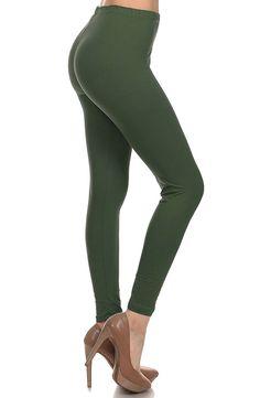 84f72c2d3c881 Leggings Depot Ultra Soft Basic Solid Plain Best Seller Leggings Pants -NEW  COLORS AVAILABLE!