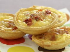 With all the decadence of a miniature high tea treat you'll enjoy the burst of flavour these capsicum quiches provide.