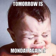 Tomorrow Is Monday Again monday monday memes monday meme monday meme images 9gag Funny, Funny Monday Memes, Monday Quotes, Funny Quotes, Funny Memes, Hilarious, Silly Memes, Truth Quotes, Frases