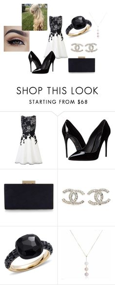 """Untitled #152"" by kajuska-bublinka on Polyvore featuring Coast, Dolce&Gabbana, Monsoon, Chanel, Pomellato, women's clothing, women, female, woman and misses"