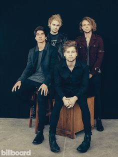 5 Seconds of Summer Billboard Cover Shoot| Billboard