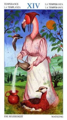 Temperance - Tarot of the Animal Lords
