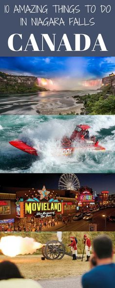 10 amazing things to do in Niagara Falls Canada. Most visitors to Canada or Toronto usually have Niagara Falls on their bucket list.