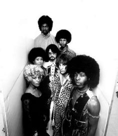 Sly and the Family Stone {that's Larry Graham at the top}