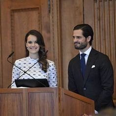 """November 21, 2017    Princess Sofia, Prince Carl Philip and Queen Silvia attended a Symposium on Dyslexia """"Differences equal to strengths"""" at the Royal Palace in Stockholm, Sweden. #PrincessSofiaOfSweden"""