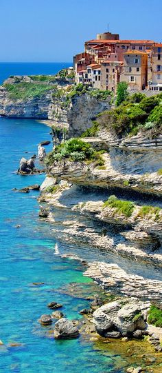 In Bonifacio, Corsica, France.