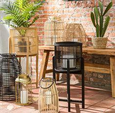 Home Decor Baskets, Backyard Patio, Home Living Room, Pagan, Balcony, Porch, Pergola, Sweet Home, New Homes