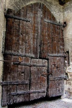 portermoto: Great Old Door by Jocey K on Flickr