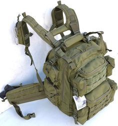 Ultimate Deluxe Tactical Assault 3-Day 72 Hours Survival Pack Backpack - TACTICAL R US