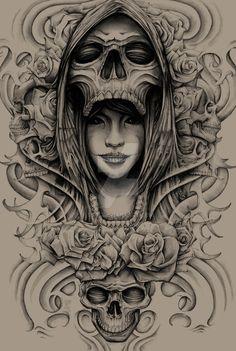 Lady Death Pencil by ESIC