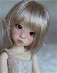Kaye Wiggs Dolls::Rallie Elf in Fair Skin. Too precious.