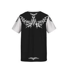 翼をモチーフにしたTシャツ メンズ・ストリート・バックプリントTシャツです 単色で大きめのプリント バックプリントには、ストリート系 ひと目をひく少し変わったデザインは着こなしで様々の表情が楽しめるアイテムです。/wing - nose