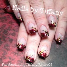 Fall nail design.. #nails