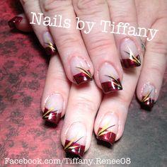 Fall nail design.. #nails