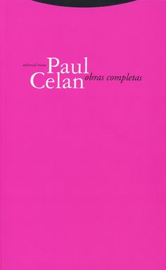 Descarga: Paul Celan - Obras completas