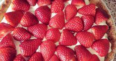 Jeg har vist aldrig fået nedfældet en samlet opskrift på Michelinkagen ? Det er altid noget med et link hér og en ændring dér. Ikke mere, nu... Cheesecake, Strawberry, Fruit, Is, Salt, Cheesecakes, Strawberry Fruit, Salts, Strawberries