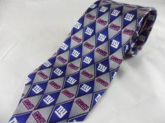 NFL NY Giants Necktie Football Eagle Neckwear Silk NWT #Eagle #NeckTie