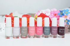 """The new Lumene Gel Effect nail polish trend collection for this spring is called """"Elegance with a twist"""". This gorgeous photo was taken by beauty blogger Sanna-Emilia / http://sanna-emilia.blogspot.fi. #nailpolish #lumene"""