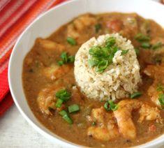 Cajun Shrimp Etouffee _ A thick, hearty, slightly spicy shrimp dish with flavors. Creole Recipes, Cajun Recipes, Shrimp Recipes, Cooking Recipes, Healthy Recipes, Fish Recipes, Cooking Ideas, Shrimp Ettouffe Recipe, Shrimp Meals