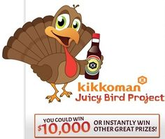 Kikkoman Instant WIN Game WIN Cutting boards,Aprons,Cookbooks & MORE Enter DAILY-Ends 2/28