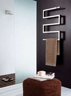 Nameeks Scirocco Snake - modern - towel bars and hooks - Quality Bath Modern Towel Bars, Heated Towel Rail, Best Bath, Diy Shower, Shower Remodel, Bathroom Towels, Interior Exterior, Bathroom Accessories, Backsplash