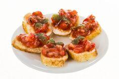 spanished bruschetta dollhouse miniature food