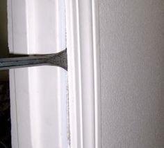 how to fix or repair a broken door frame