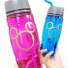 Personalize Disney Water bottles with your Cricut